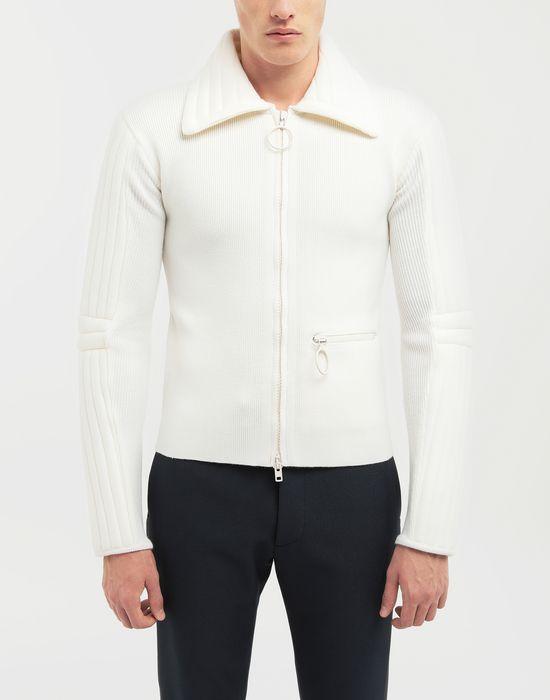 MAISON MARGIELA Padded jersey knit pullover  Cardigan [*** pickupInStoreShippingNotGuaranteed_info ***] r