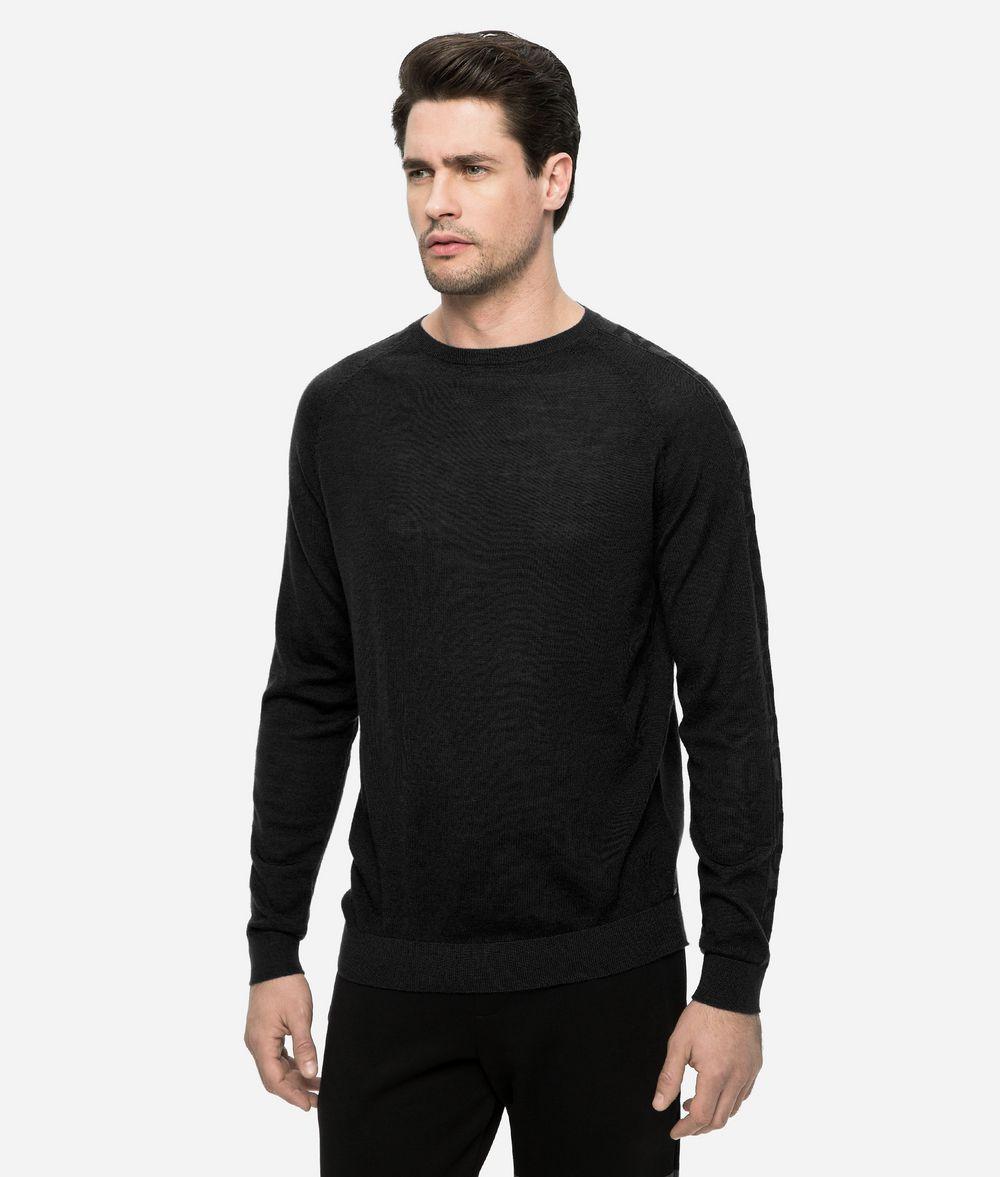 KARL LAGERFELD LOGO SLEEVE JUMPER Sweater Man f