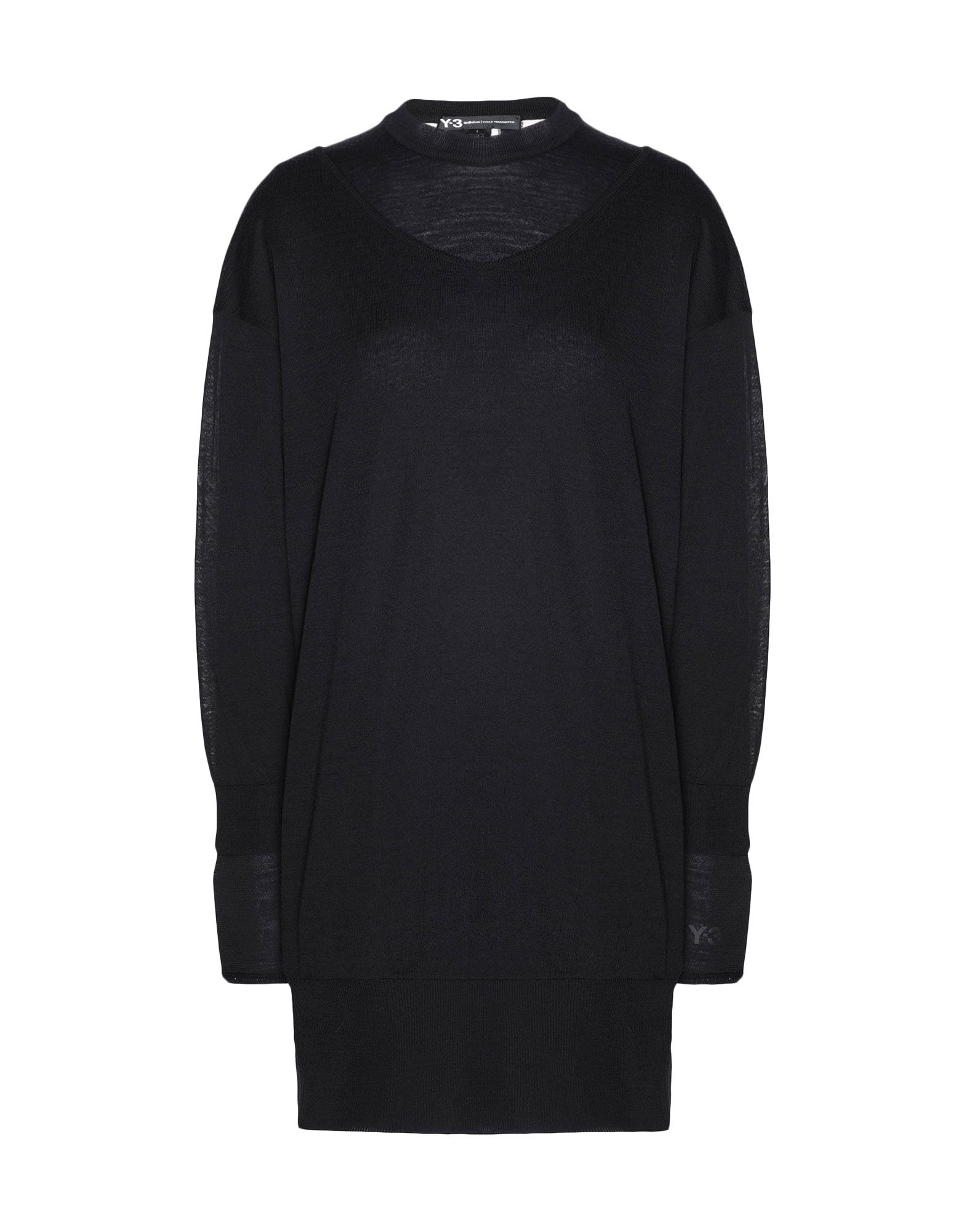 Y-3 Y-3 Layered Knitted Long Sweater Long sleeve sweater Woman f