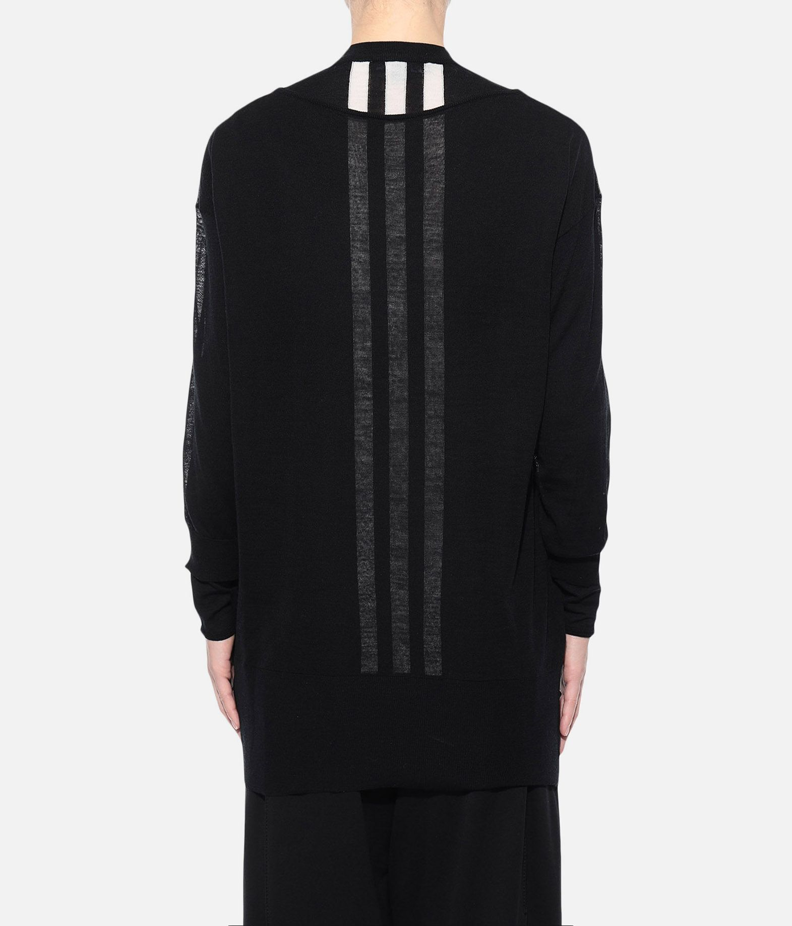 Y-3 Y-3 Layered Knitted Long Sweater Long sleeve jumper Woman d
