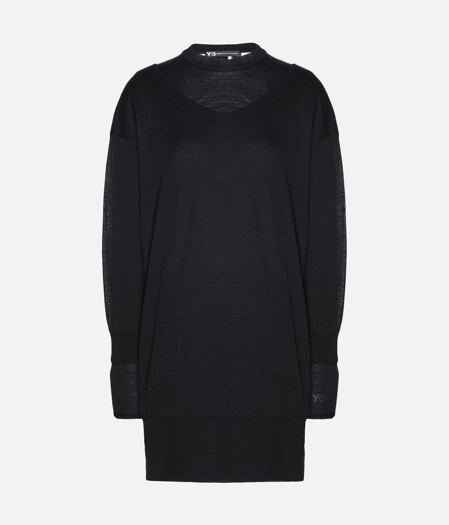 Y-3 Y-3 Layered Knitted Long Sweater Long sleeve jumper Woman f