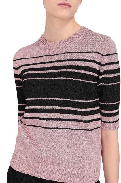 M MISSONI Jumper Pastel pink Woman - Front