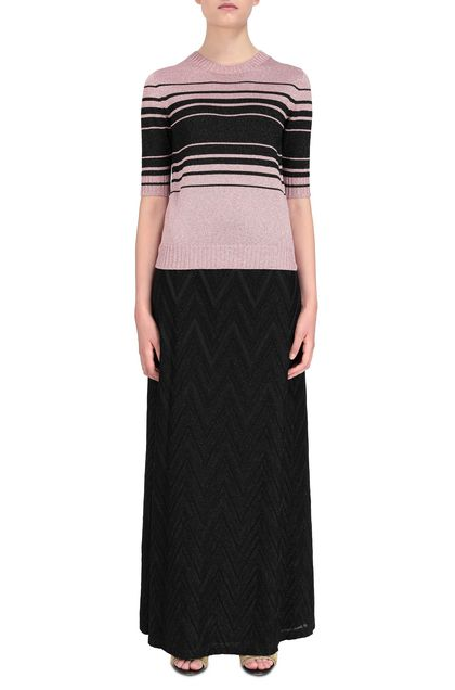 M MISSONI Jumper Pastel pink Woman - Back