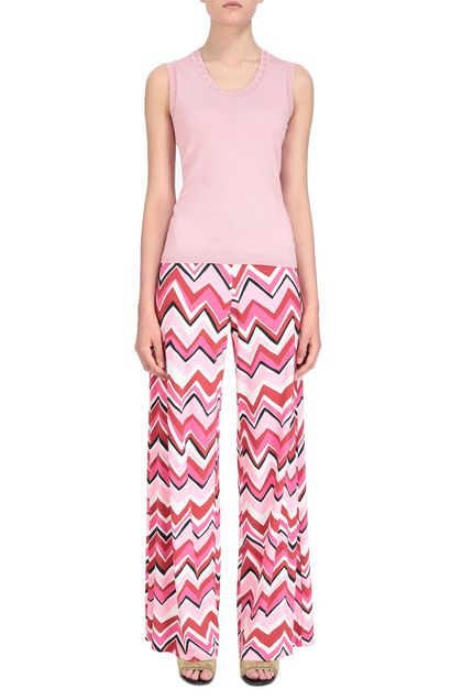 M MISSONI Top Pink Woman - Back