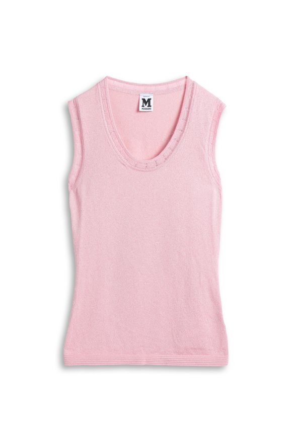 M MISSONI Top Pink Woman