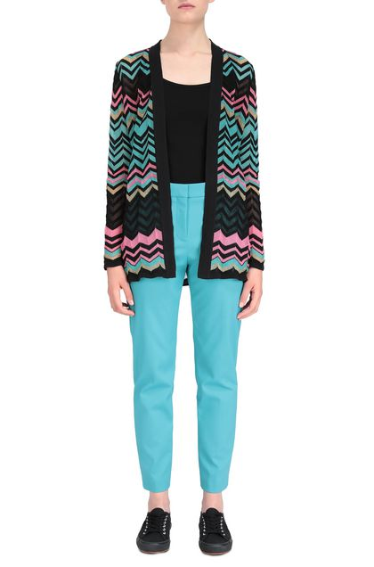 M MISSONI Cardigan Nero Donna - Retro
