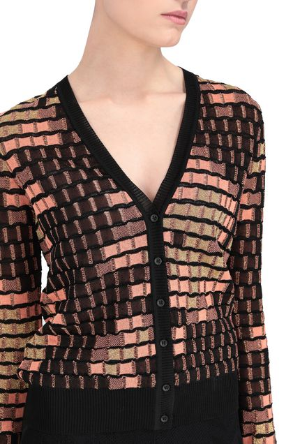 M MISSONI Cardigan Black Woman - Front