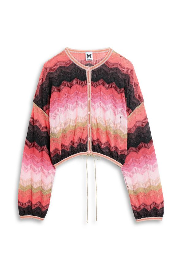 M MISSONI Cardigan Coral Woman