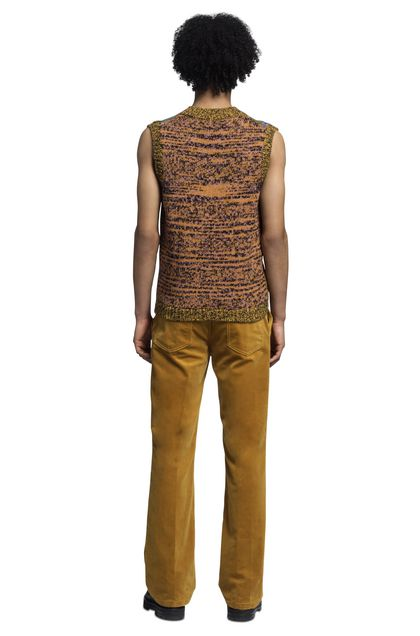 MISSONI Vest Yellow Man - Front