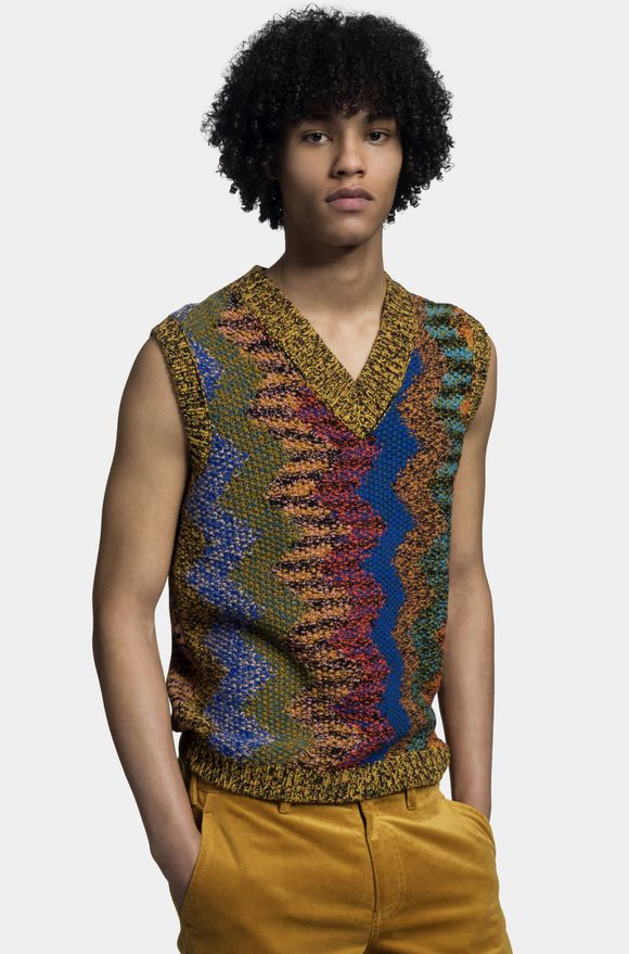 MISSONI Vest Man, Detail