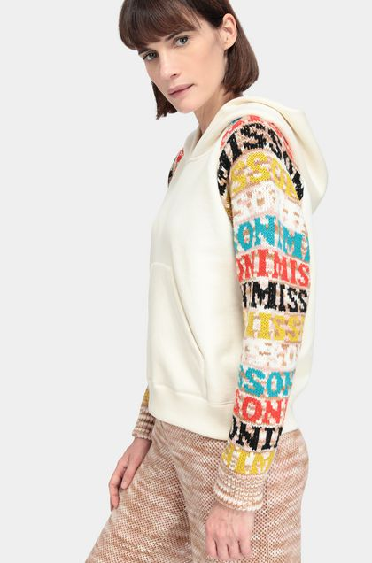 MISSONI Pullover Ivory Woman - Front