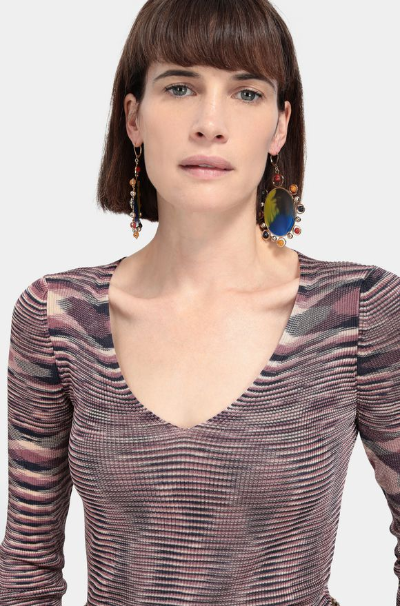 MISSONI V-Neck Woman, Frontal view