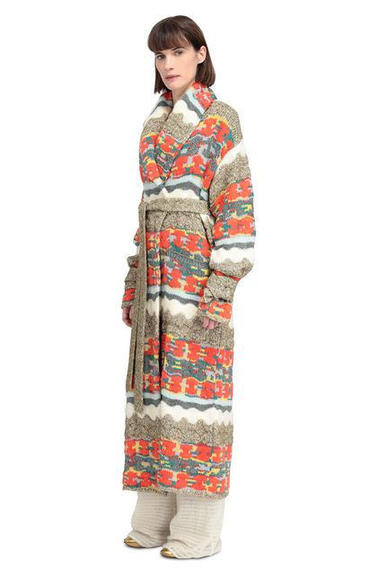 MISSONI Long cardigan Orange Woman - Front