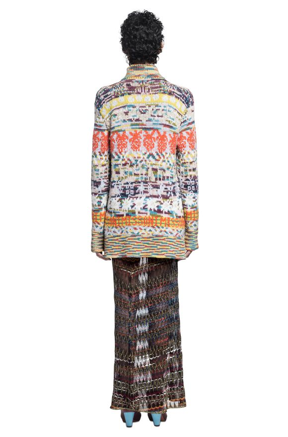 MISSONI Langer Cardigan Damen, Ansicht ohne Model