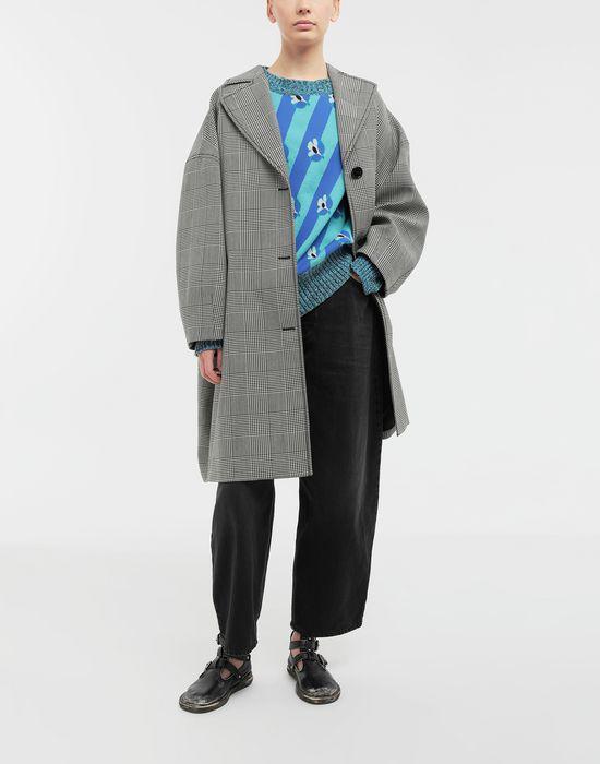MM6 MAISON MARGIELA Floral-print jacquard pullover Long sleeve sweater [*** pickupInStoreShipping_info ***] d
