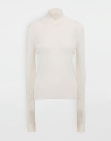 MAISON MARGIELA Knitwear tape pullover High neck sweater [*** pickupInStoreShipping_info ***] f