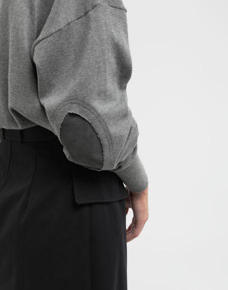 MAISON MARGIELA NewBasic jersey knit pullover V-neck Woman b