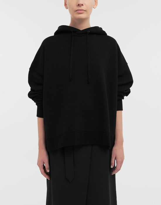 MAISON MARGIELA AIDS Charity-print jersey sweatshirt Hooded sweatshirt [*** pickupInStoreShipping_info ***] r