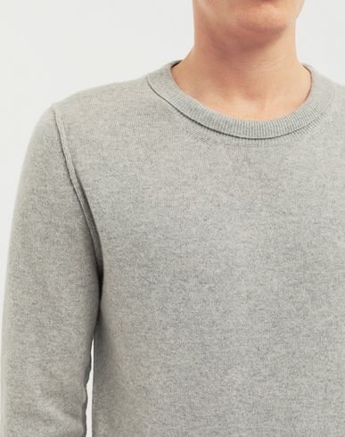 SWEATERS Cast off knit pullover