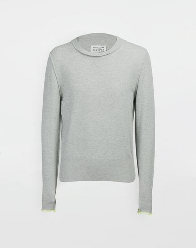 MAISON MARGIELA Crewneck sweater [*** pickupInStoreShippingNotGuaranteed_info ***] Cast off knit pullover f