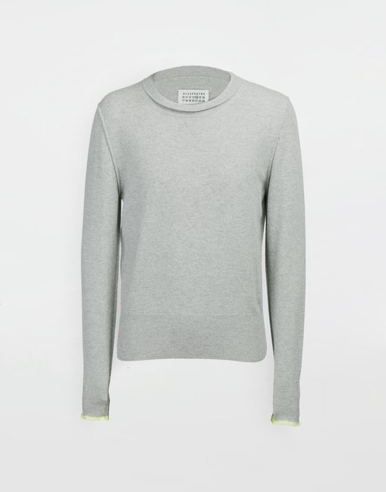 MAISON MARGIELA Cast off knit pullover Crewneck sweater [*** pickupInStoreShippingNotGuaranteed_info ***] f