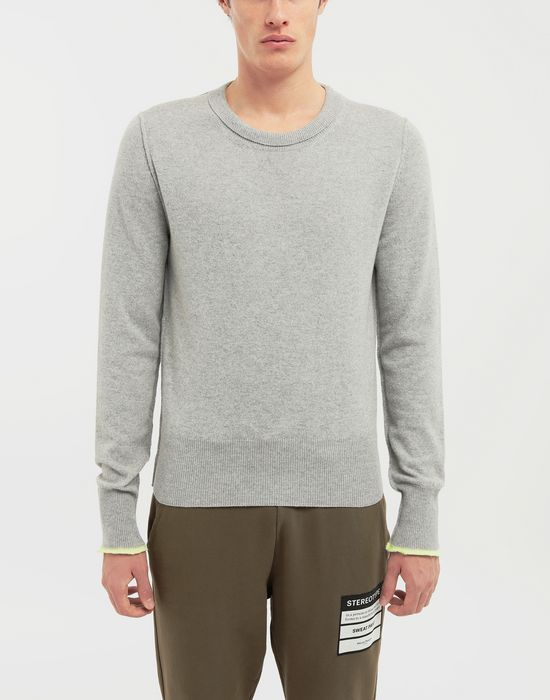 MAISON MARGIELA Cast off knit pullover Crewneck sweater [*** pickupInStoreShippingNotGuaranteed_info ***] r