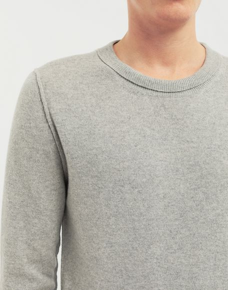 MAISON MARGIELA Cast off knit pullover Crewneck sweater Man a