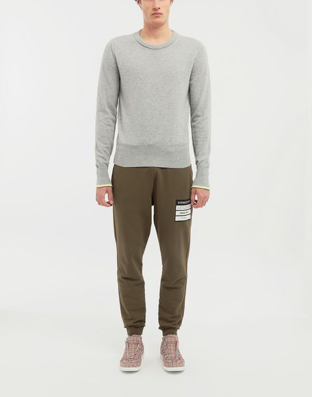 MAISON MARGIELA Cast off knit pullover Crewneck sweater Man d