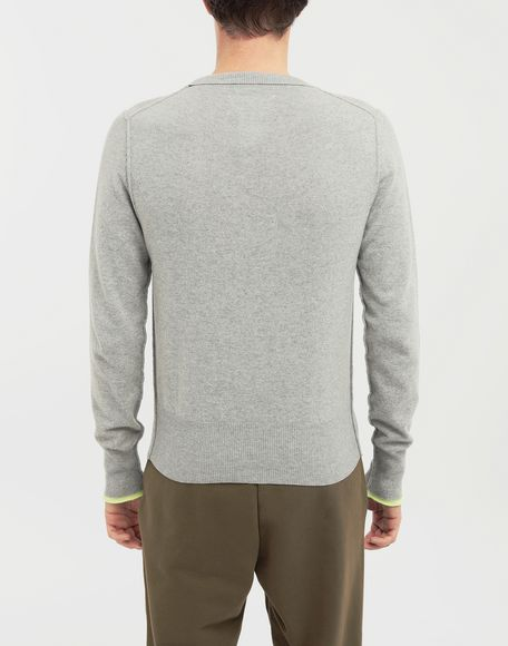 MAISON MARGIELA Cast off knit pullover Crewneck sweater Man e