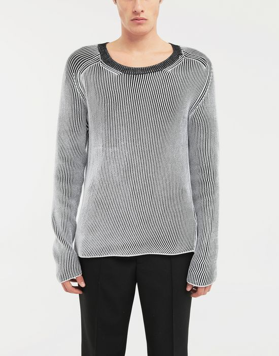 MAISON MARGIELA Cardigan knit pullover Crewneck sweater [*** pickupInStoreShippingNotGuaranteed_info ***] r