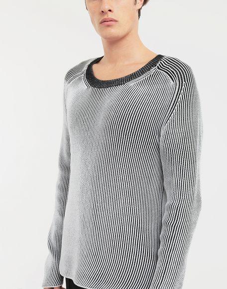MAISON MARGIELA Cardigan knit pullover Crewneck sweater Man a