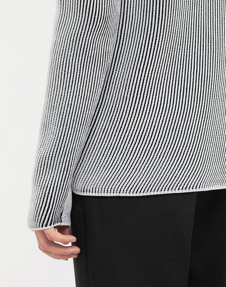 MAISON MARGIELA Cardigan knit pullover Crewneck sweater Man b