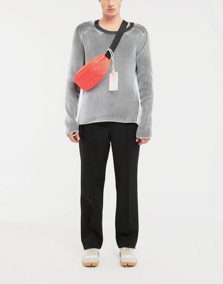 MAISON MARGIELA Cardigan knit pullover Crewneck sweater Man d
