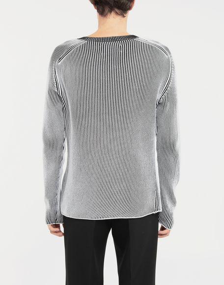 MAISON MARGIELA Cardigan knit pullover Crewneck sweater Man e