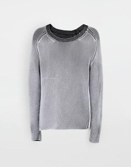 MAISON MARGIELA Cardigan knit pullover Crewneck sweater Man f