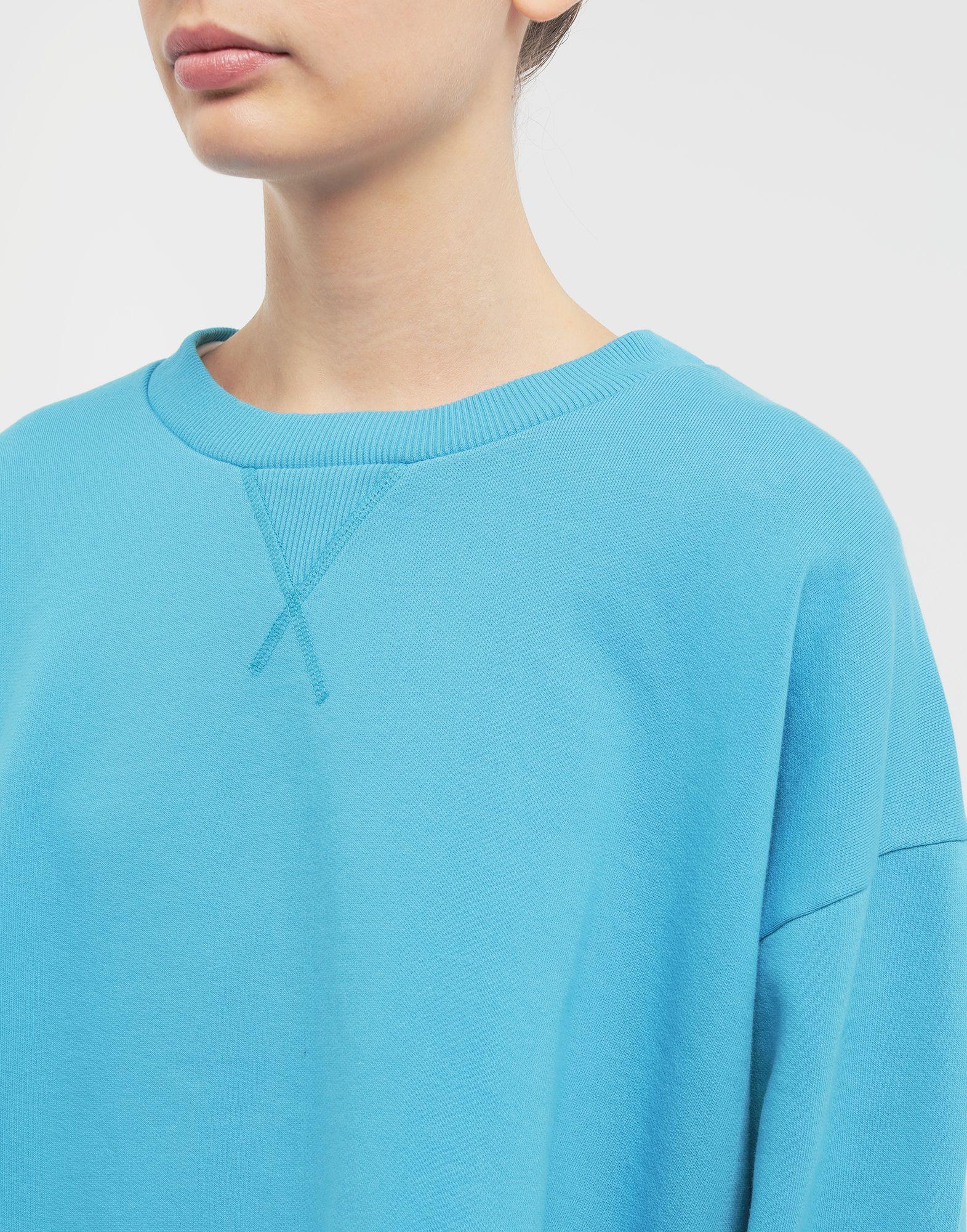 MM6 MAISON MARGIELA Oversized jersey sweatshirt Sweatshirt Woman a