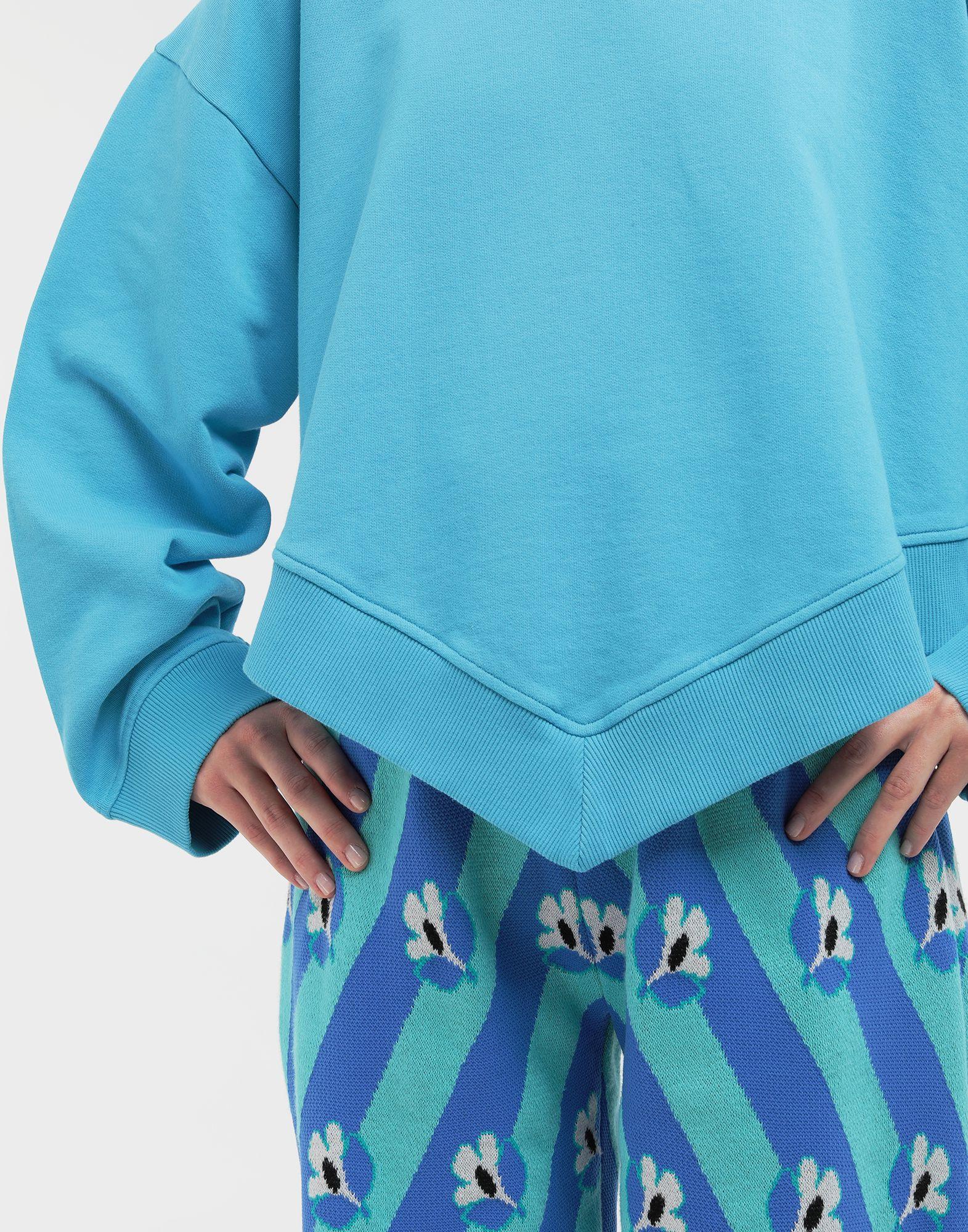 MM6 MAISON MARGIELA Oversized jersey sweatshirt Sweatshirt Woman b