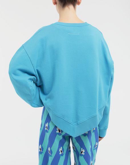 MM6 MAISON MARGIELA Oversized jersey sweatshirt Sweatshirt Woman e