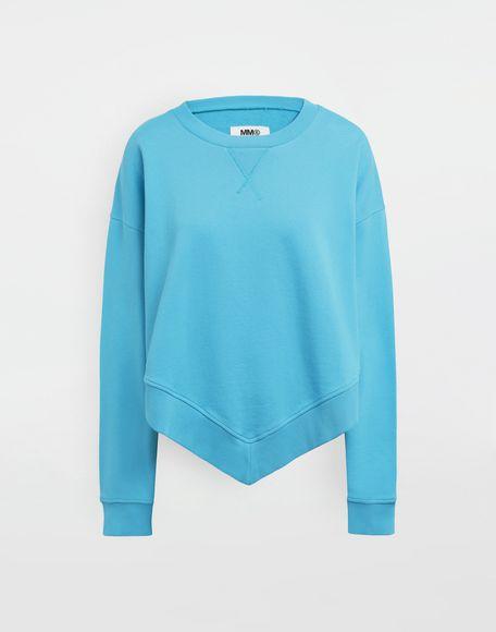 MM6 MAISON MARGIELA Oversized jersey sweatshirt Sweatshirt Woman f
