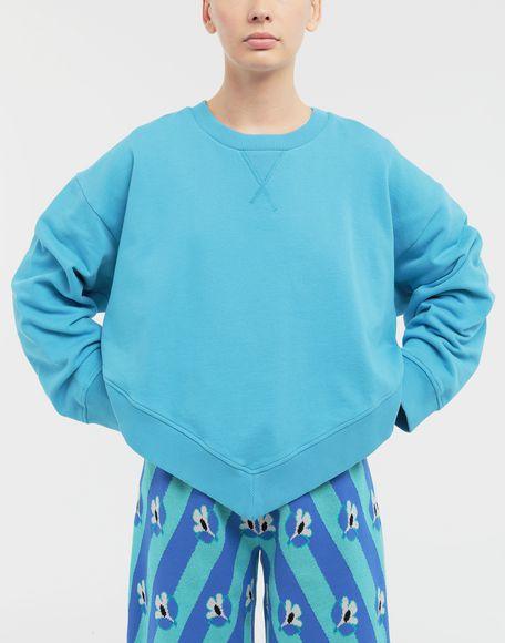 MM6 MAISON MARGIELA Oversized jersey sweatshirt Sweatshirt Woman r