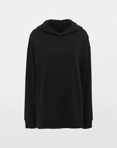 MM6 MAISON MARGIELA Logo-print hooded sweatshirt Hooded sweatshirt [*** pickupInStoreShipping_info ***] f