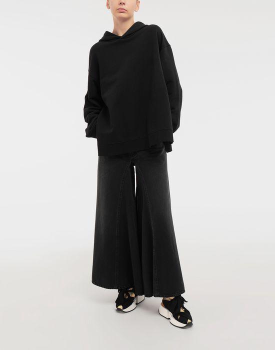 MM6 MAISON MARGIELA Logo-print hooded sweatshirt Hooded sweatshirt [*** pickupInStoreShipping_info ***] d