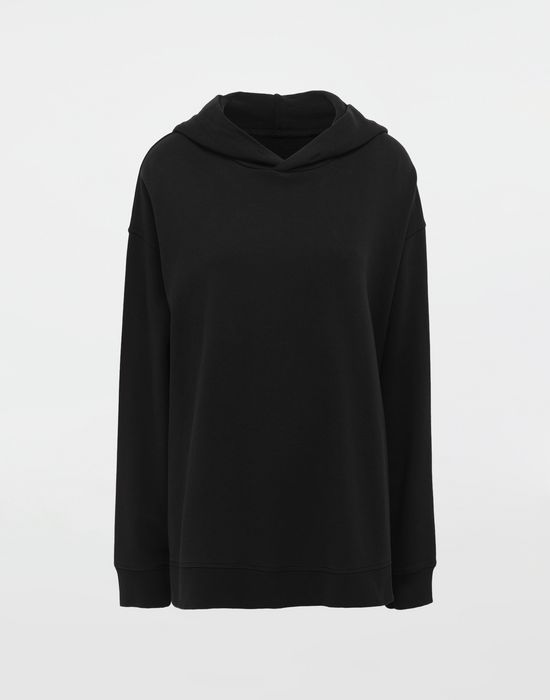 MM6 MAISON MARGIELA Logo-print hooded sweatshirt Hooded sweatshirt [*** pickupInStoreShipping_info ***] f