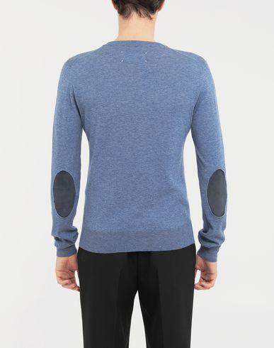 SWEATERS Décortiqué elbow patch knit pullover