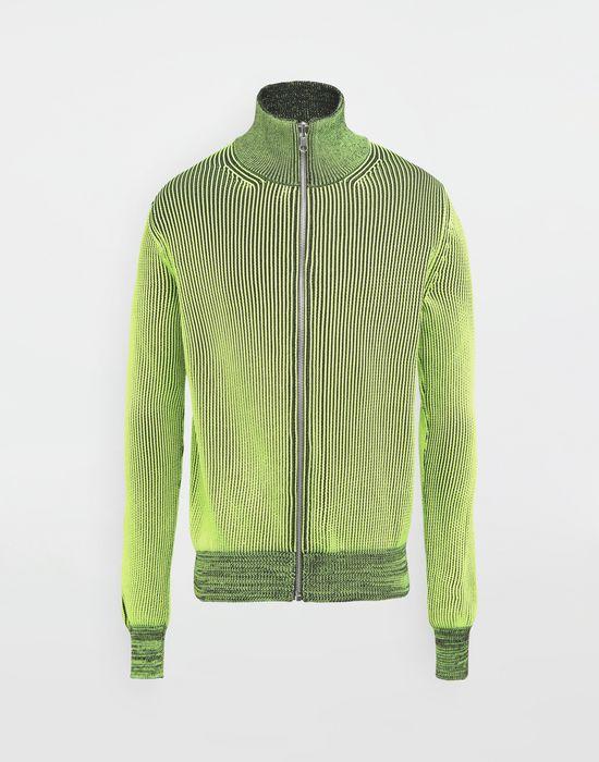 MAISON MARGIELA Zip-embellished knit cardigan pullover Cardigan [*** pickupInStoreShippingNotGuaranteed_info ***] f
