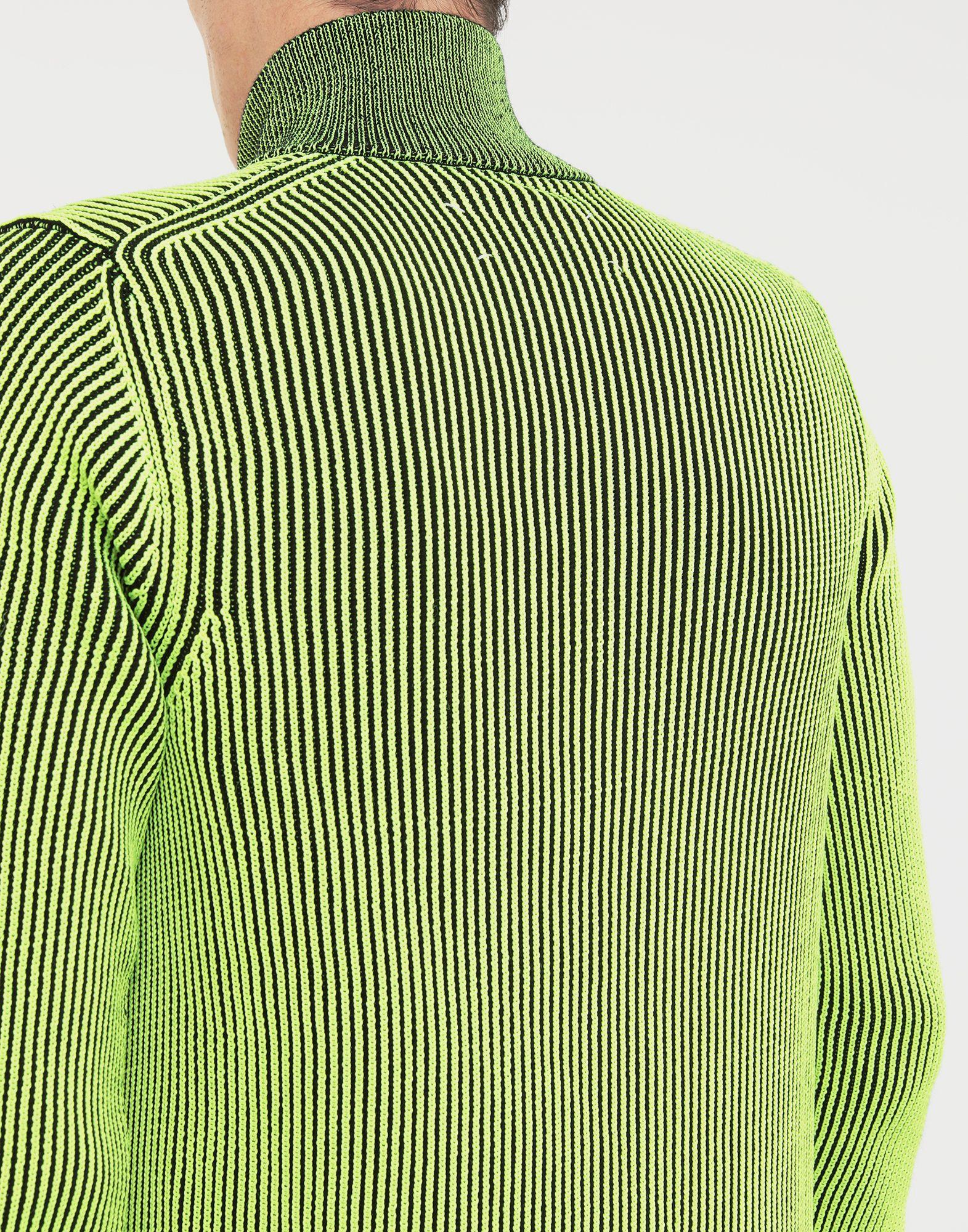 MAISON MARGIELA Zip-embellished knit cardigan pullover Cardigan Man b