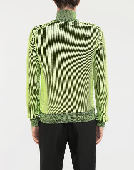 MAISON MARGIELA Zip-embellished knit cardigan pullover Cardigan Man e