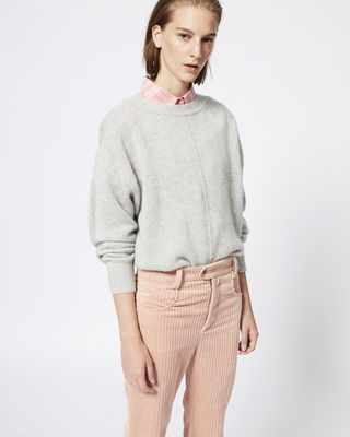 ISABEL MARANT LONG SLEEVE JUMPER Woman CALICE jumper r