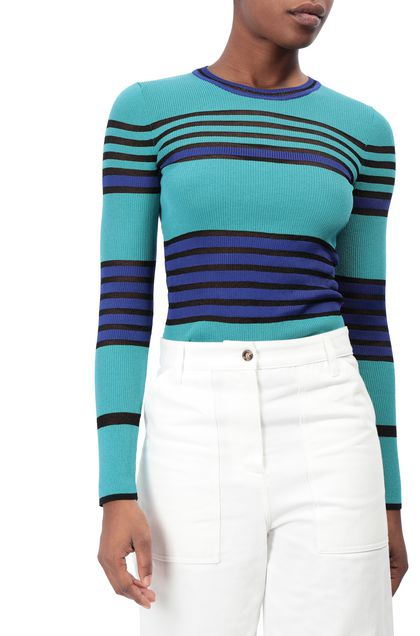 M MISSONI Jumper Turquoise Woman - Front