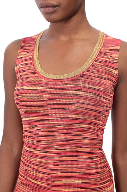 M MISSONI Sweater Coral Woman - Front